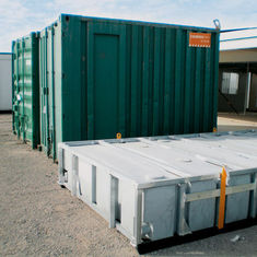 China Moveable Mini Container House , Fully Finished Storage Container Modular Homes supplier