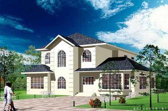 China White Light Gauge Steel Prefab Villa / Architectural Prefab Homes America Standard supplier