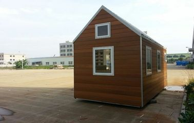 China Mini Hotel Prefabricated Garden Studio , Prefab Hotel distributor