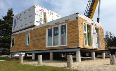 China Modular Buildings Prefabricated House Two Storey Light Gauge Steel Villa distributor